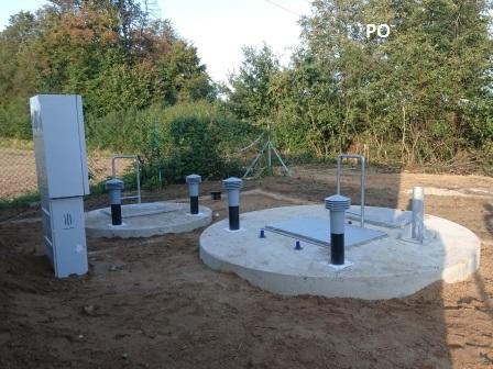 Modernized sewage pumping station