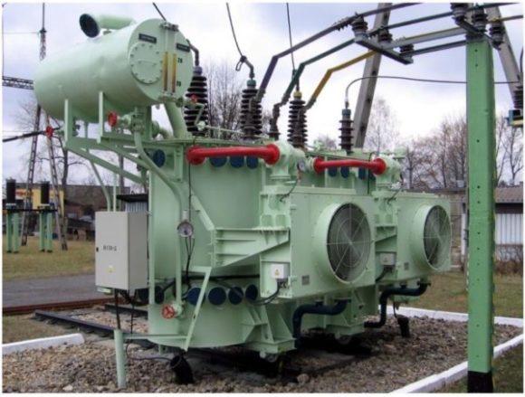 Transformator z pompami CTR