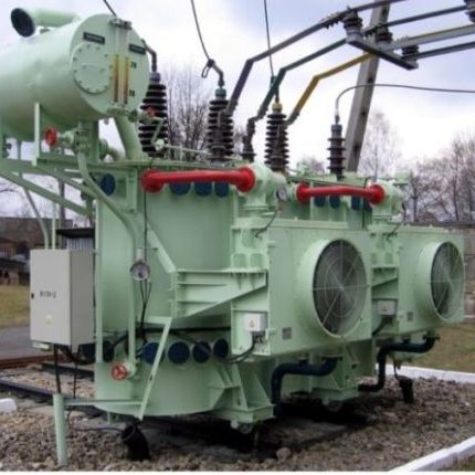 Transformer with CTR pumps